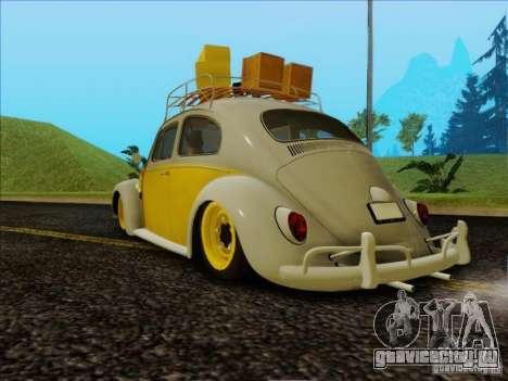 Volkswagen Beetle Edit для GTA San Andreas вид слева