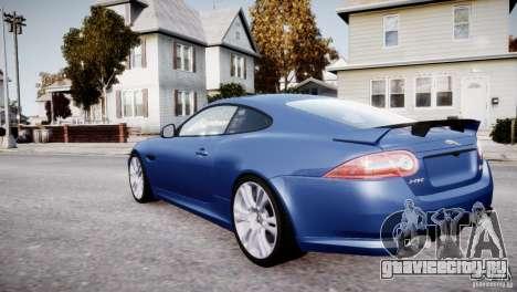 Jaguar XKR-S 2012 для GTA 4 колёса
