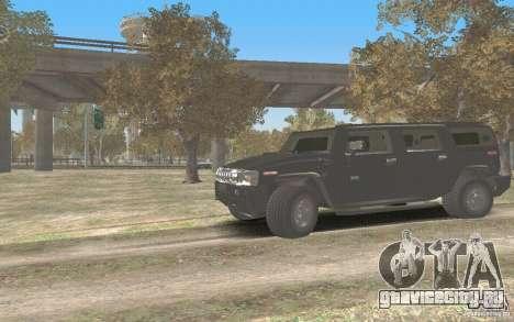 Hummer H2 Stock для GTA San Andreas вид слева