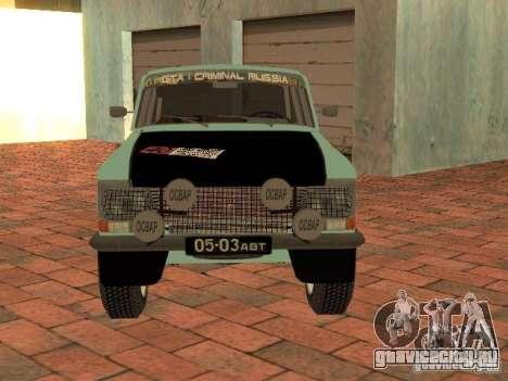 Москвич 412 Rally Version для GTA San Andreas вид справа