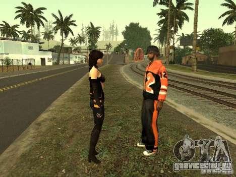Girls from ME 3 для GTA San Andreas девятый скриншот