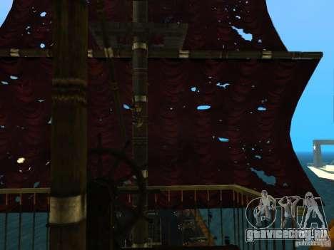 Queen Annes Revenge для GTA San Andreas вид сбоку