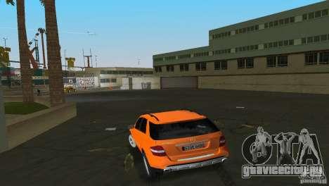 Mercedes-Benz ML 500 для GTA Vice City вид справа