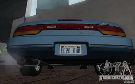 Nissan 200SX 1.8 Turbo 1990 для GTA San Andreas вид слева