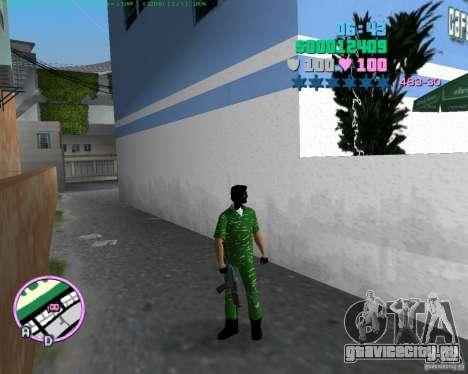 АК-74У для GTA Vice City третий скриншот