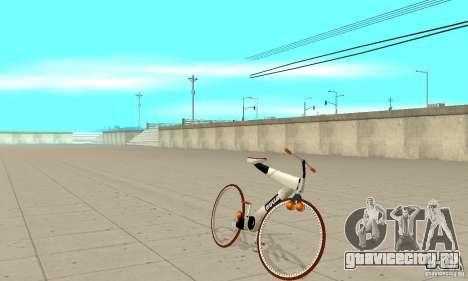 Nulla 2009 Mt Bike для GTA San Andreas вид слева