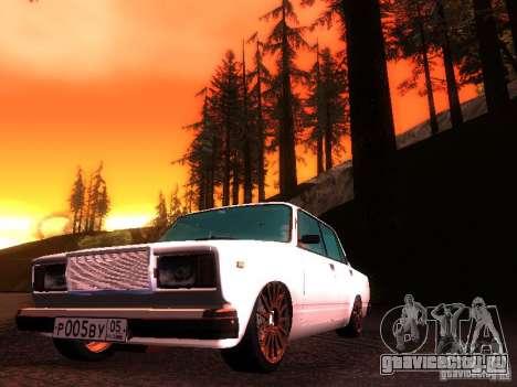 ВАЗ 2107 Lambo для GTA San Andreas вид слева