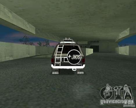 Toyota Surf v2.1 для GTA San Andreas вид слева