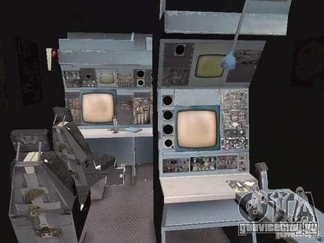 AC-130 Spooky II для GTA San Andreas вид изнутри