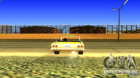 Crazy Taxi - B.D.Joe для GTA San Andreas вид сзади