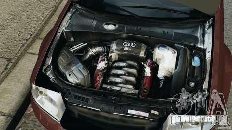 Audi RS6 2003 для GTA 4 вид сверху