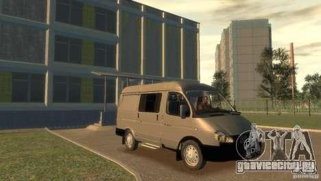 ГАЗ 2752 Соболь для GTA 4 вид сзади