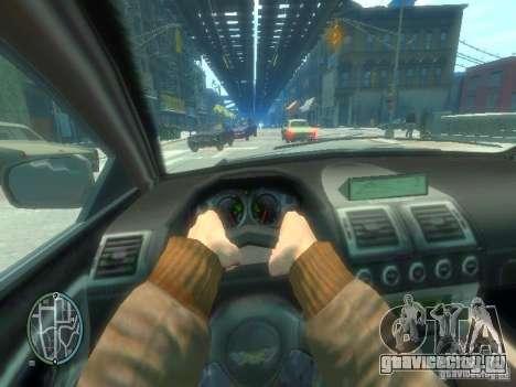 Вид из авто для GTA 4 седьмой скриншот