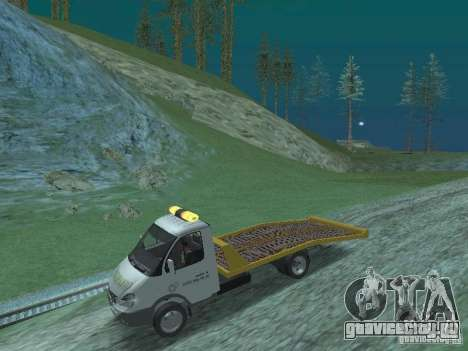 ГАЗ 3302 2003-2011г. Эвакуатор для GTA San Andreas