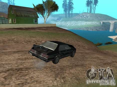 Такси Романа из GTA 4 для GTA San Andreas вид изнутри