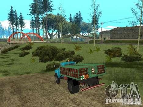 ГАЗ-53 баллоновоз для GTA San Andreas вид справа