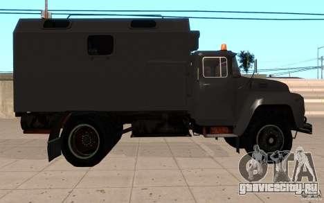 ЗиЛ 130 Радио Бутка для GTA San Andreas вид справа