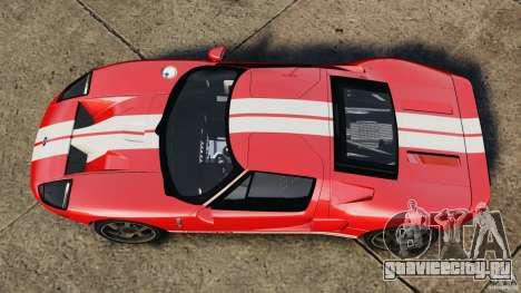 Ford GT 2005 v1.0 для GTA 4 вид справа