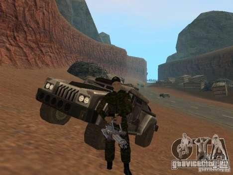 Солдат российской армии для GTA San Andreas шестой скриншот