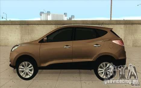 Hyundai ix35 для GTA San Andreas вид сзади слева