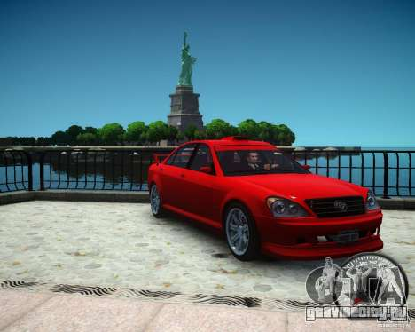 Schafter RS для GTA 4 вид справа