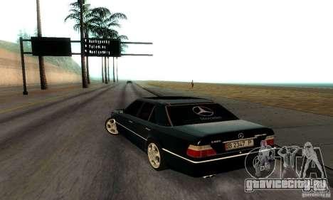 Mercedes-Benz W124 E420 AMG для GTA San Andreas вид справа