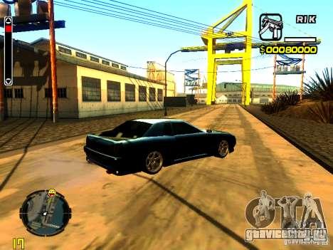New Elegy v1 для GTA San Andreas вид справа