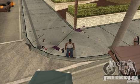 GTA SA Real ragdoll для GTA San Andreas второй скриншот