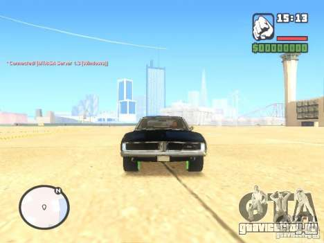 Dodge Charger Custom 1969 для GTA San Andreas