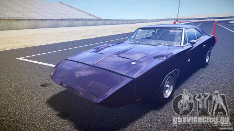 Dodge Charger Daytona 1969 [EPM] для GTA 4 вид снизу