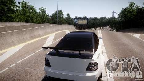 Sultan RS 3.0 для GTA 4 вид справа