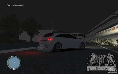 Opel Astra для GTA 4 вид справа