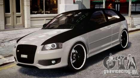 Audi S3 для GTA 4 вид слева