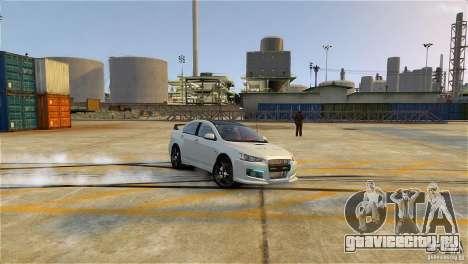 Mitsubishi Lancer Evo X для GTA 4
