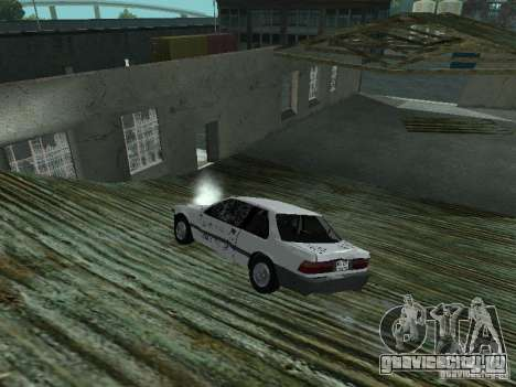 Honda Accord для GTA San Andreas вид изнутри
