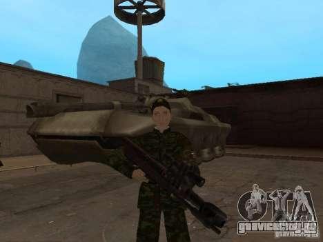 Солдат российской армии для GTA San Andreas пятый скриншот