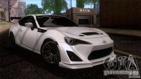 Scion FR-S 2013 для GTA San Andreas вид справа