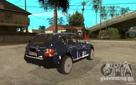 Audi Allroad Quattro для GTA San Andreas вид справа