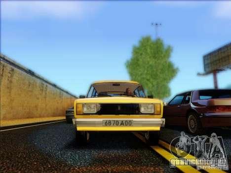 ВАЗ 2104 Такси для GTA San Andreas вид изнутри
