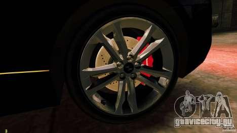 Hyundai Genesis Coupe 2010 для GTA 4 вид сзади