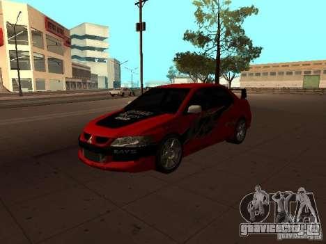 Mitsubishi Lancer Evolution 8 для GTA San Andreas