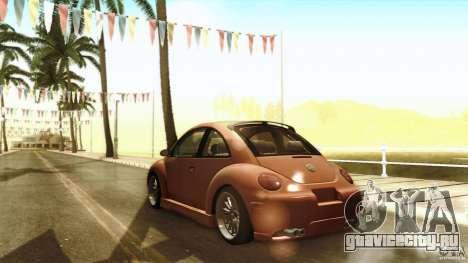Volkswagen Beetle RSi Tuned для GTA San Andreas вид сверху