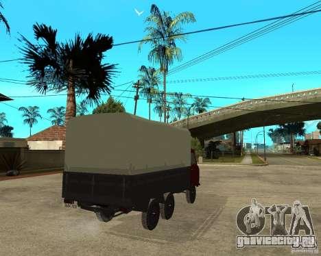 УАЗ 452 грузовой 6x6 для GTA San Andreas вид сзади слева