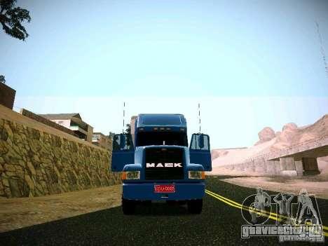 Mack СН-613 для GTA San Andreas вид справа