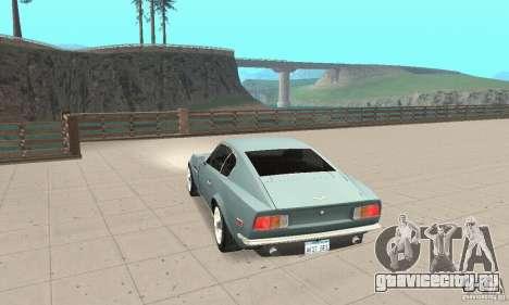 Aston Martin V8 для GTA San Andreas вид слева