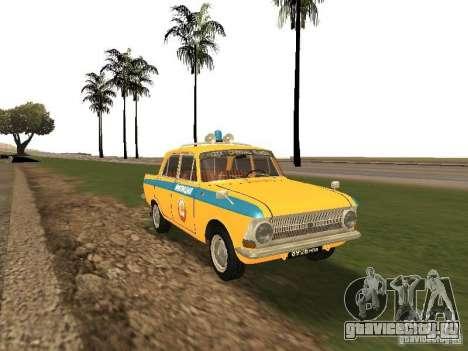 Иж 412 ГАИ для GTA San Andreas