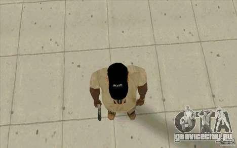 Кепка boss black для GTA San Andreas третий скриншот