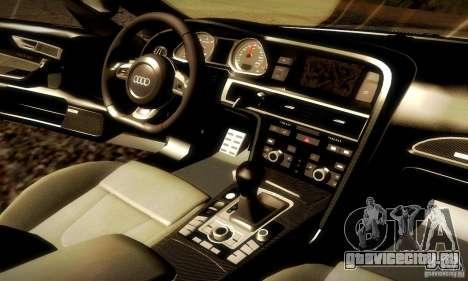 Audi RS6 TT для GTA San Andreas вид сверху