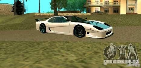 New Turismo для GTA San Andreas вид сзади слева