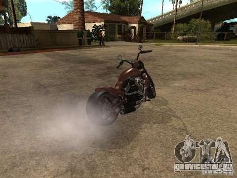 Harley Davidson для GTA San Andreas вид слева